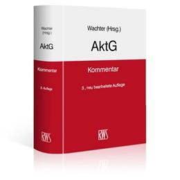 Abbildung von Wachter (Hrsg.) | AktG | 3., neu bearbeitete Auflage | 2018 | Kommentar