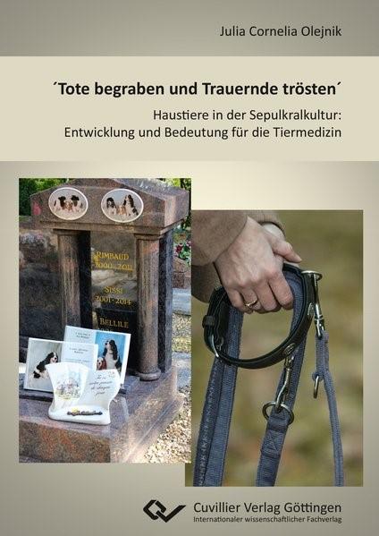 ´Tote begraben und Trauernde trösten´ | Olejnik, 2016 | Buch (Cover)