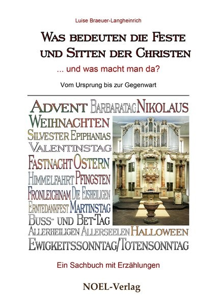 Was bedeuten die Feste und Sitten der Christen | Braeuer-Langheinrich, 2016 | Buch (Cover)