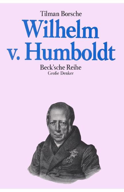 Cover: Tilman Borsche, Wilhelm von Humboldt