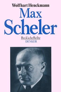 Abbildung von Henckmann, Wolfhart   Max Scheler   1998   543