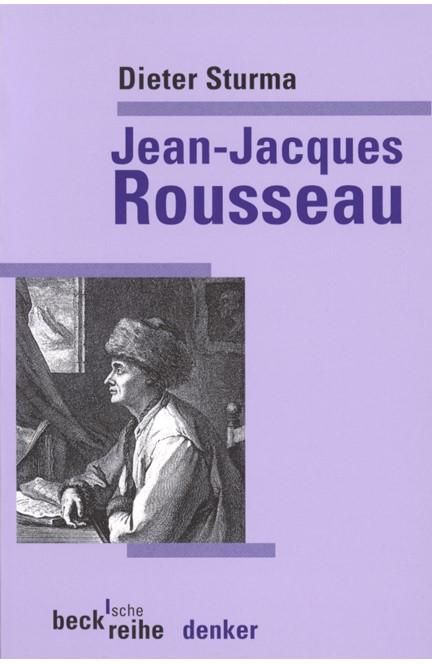 Cover: Dieter Sturma, Jean-Jacques Rousseau