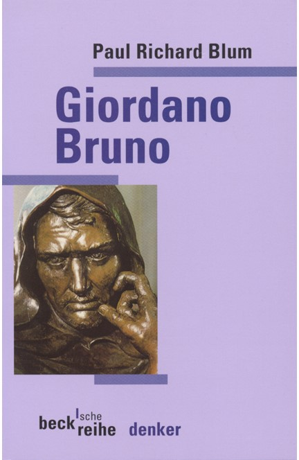 Cover: Paul Richard Blum, Giordano Bruno