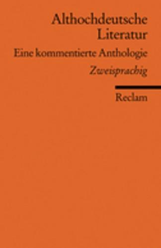 Althochdeutsche Literatur   Müller, 2007   Buch (Cover)