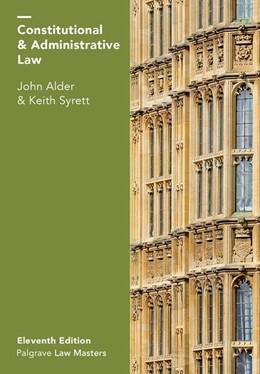 Abbildung von Alder / Syrett | Constitutional and Administrative Law | 11. Auflage | 2017 | beck-shop.de