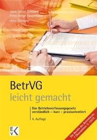 BetrVG (Betriebsverfassungsgesetz) - leicht gemacht | Schrader | 4., überarbeitete Auflage. 2017, 2017 | Buch (Cover)