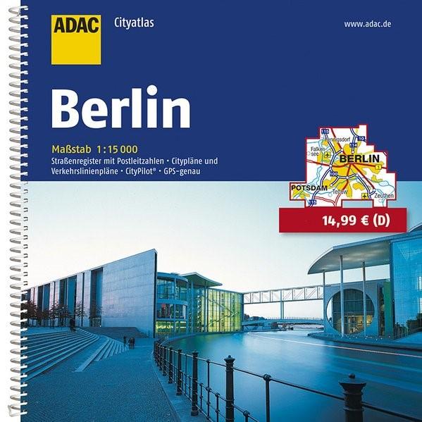 ADAC CityAtlas Berlin 1 : 15 000 | 7. Auflage. Laufzeit bis 2020, 2014 | Buch (Cover)