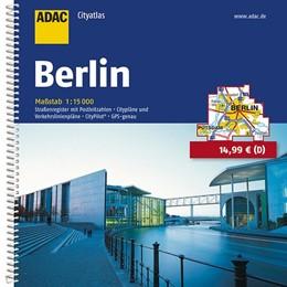 Abbildung von ADAC CityAtlas Berlin 1 : 15 000 | 7. Auflage. Laufzeit bis 2020 | 2017 | Straßenregister mit Postleitza...