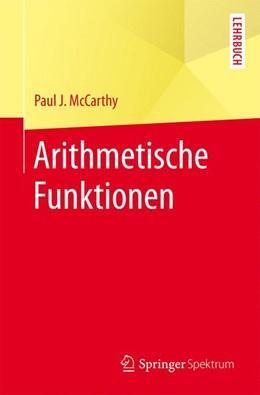 Abbildung von McCarthy | Arithmetische Funktionen | 2017