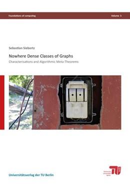 Abbildung von Siebertz   Nowhere Dense Classes of Graphs   1. Auflage   2016   beck-shop.de