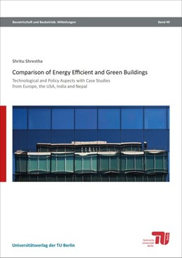 Abbildung von Shrestha | Comparison of energy efficient and green buildings | 1. Auflage | 2016 | beck-shop.de