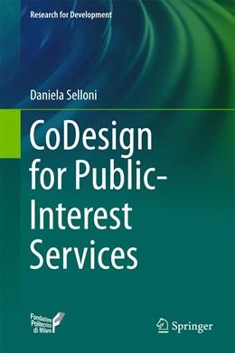 Abbildung von Selloni   CoDesign for Public-Interest Services   1. Auflage   2017   beck-shop.de