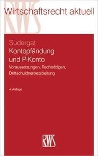 Kontopfändung und P-Konto   Sudergat, 2019   Buch (Cover)