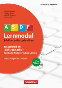 10-Finger-Tastschreiben (2. Auflage). Kopiervorlagen mit Lösungen und CD-ROM | Bornewasser / Gerhart / Hofmann, 2017 | Buch (Cover)