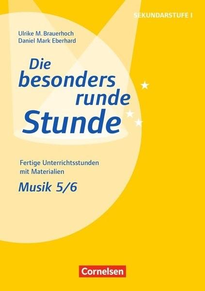 Musik: Klasse 5/6 | Brauerhoch / Eberhard, 2017 | Buch (Cover)