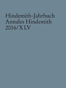 Abbildung von Hindemith-Jahrbuch | 1. Auflage | 2017 | beck-shop.de