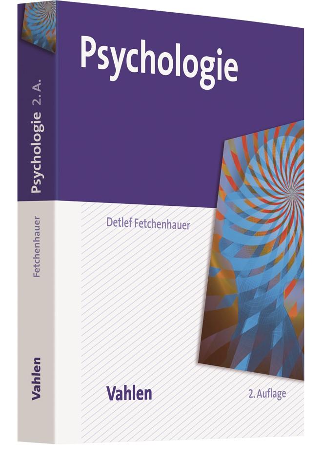 Psychologie | Fetchenhauer | 2., vollständig überarbeitete Auflage, 2017 | Buch (Cover)