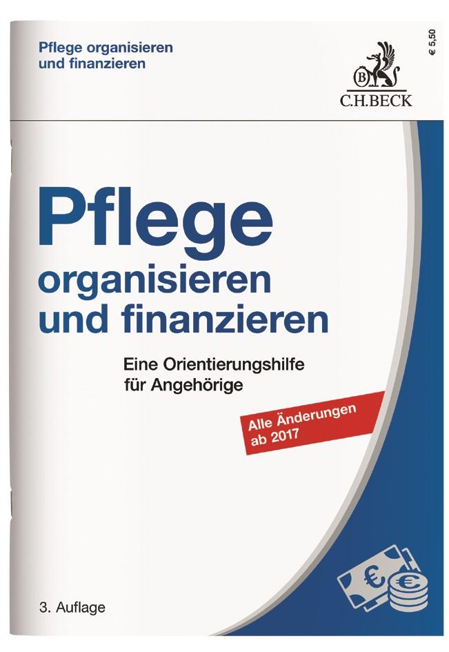 Pflege organisieren und finanzieren | 3. Auflage, 2017 | Buch (Cover)