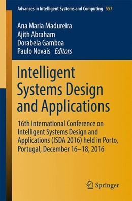 Abbildung von Madureira / Abraham   Intelligent Systems Design and Applications   1. Auflage   2017   557   beck-shop.de