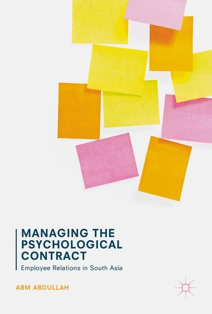 Managing the Psychological Contract | Abdullah | 1st ed. 2017, 2017 | Buch (Cover)