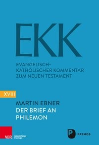 Der Brief an Philemon | Ebner, 2017 | Buch (Cover)
