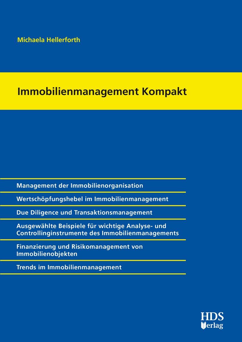 Immobilienmanagement Kompakt | Hellerforth, 2017 (Cover)