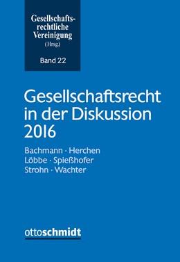 Abbildung von Gesellschaftsrecht in der Diskussion 2017 | 2017