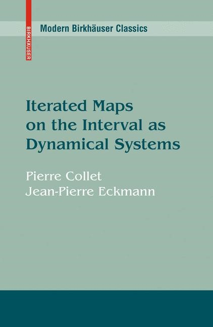 Abbildung von Collet / Eckmann | Iterated Maps on the Interval as Dynamical Systems | 1980