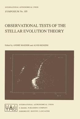 Abbildung von Maeder / Renzini | Observational Tests of the Stellar Evolution Theory | 1984 | 105