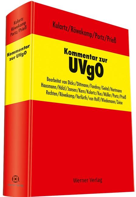 Kommentar zur UVgO   Kulartz / Röwekamp / Portz / Prieß (Hrsg.), 2017   Buch (Cover)