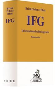 Informationsfreiheitsgesetz: IFG | Brink / Polenz / Blatt, 2017 | Buch (Cover)