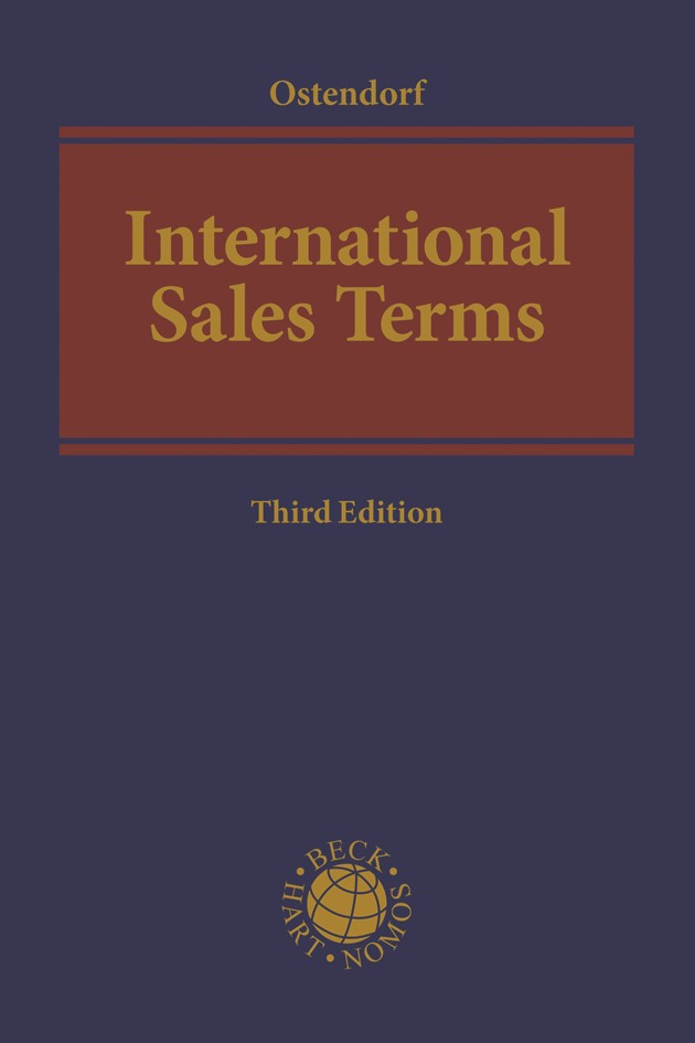 International Sales Terms | Ostendorf | 3rd Edition, 2018 | Buch (Cover)
