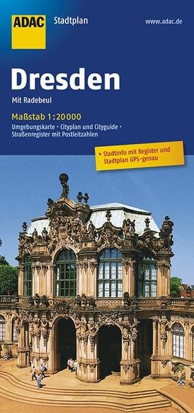 ADAC StadtPlan Dresden mit Radebeul 1 : 20 000 | 12. Auflage, 2017 (Cover)