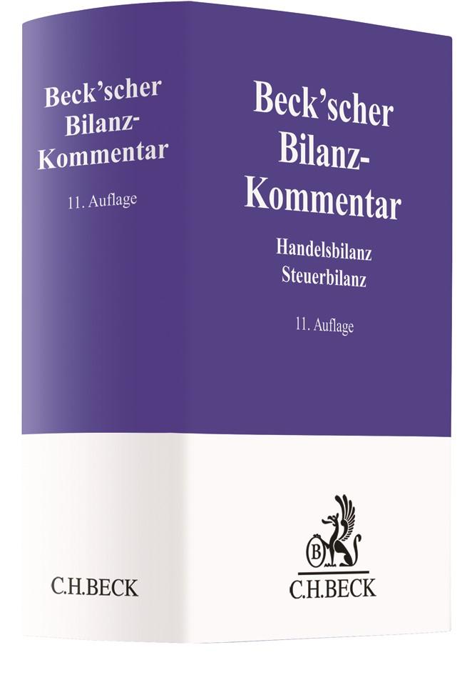 Beck'scher Bilanz-Kommentar | 11., neubearbeitete Auflage, 2018 | Buch (Cover)