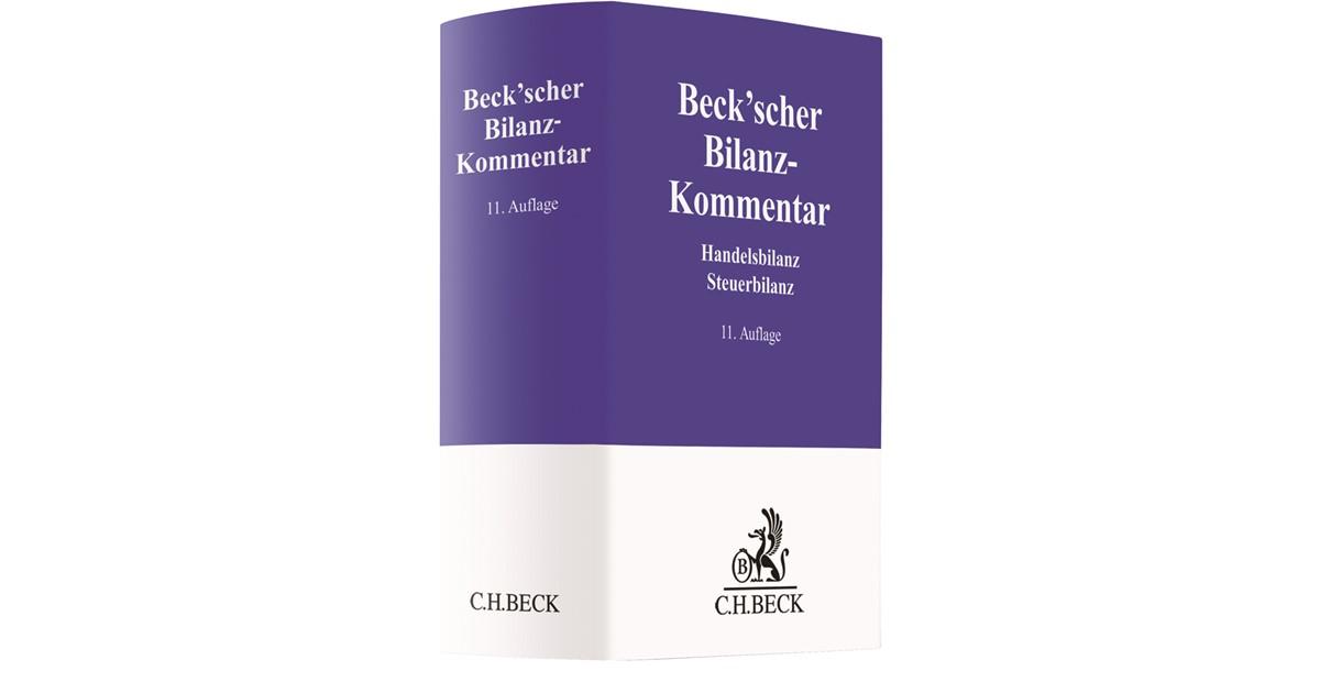 Beck\'scher Bilanz-Kommentar | 11., neubearbeitete Auflage, 2018 ...