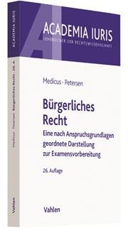 Bürgerliches Recht | Medicus / Petersen | 26. Auflage, 2017 | Buch (Cover)