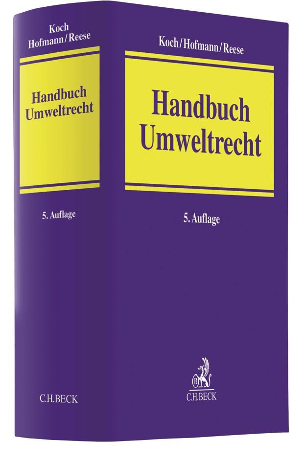 Handbuch Umweltrecht | Koch / Hofmann / Reese | 5., überarbeitete Auflage, 2018 | Buch (Cover)