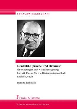 Abbildung von Radeiski | Denkstil, Sprache und Diskurse | 1. Auflage | 2017 | beck-shop.de