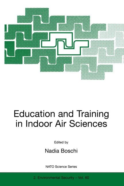 Education and Training in Indoor Air Sciences | Boschi, 1999 | Buch (Cover)
