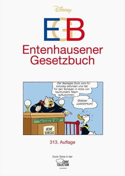 EGB - Entenhausener Gesetzbuch | Disney, 2017 | Buch (Cover)