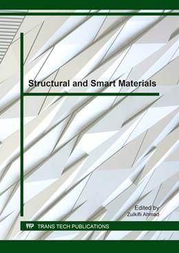 Abbildung von Ahmad | Structural and Smart Materials | 1. Auflage | 2017 | Volume 729 | beck-shop.de