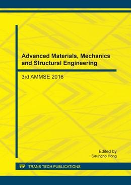 Abbildung von Hong   Advanced Materials, Mechanics and Structural Engineering   2017   3rd AMMSE 2016   Volume 863