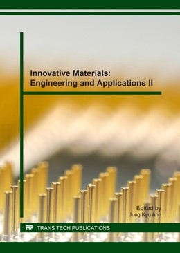 Abbildung von Ahn | Innovative Materials: Engineering and Applications II | 2017 | Volume 730