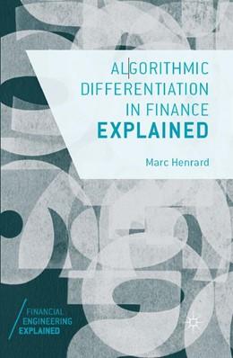Abbildung von Henrard | Algorithmic Differentiation in Finance Explained | 1. Auflage | 2017 | beck-shop.de