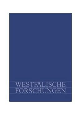 Abbildung von Küster | Westf. Forschungen Band 66 - 2016 | 1. Auflage | 2017 | 66-2016 | beck-shop.de