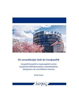Abbildung von Hönow | Die vernachlässigte Säule der Energiepolitik | 2017 | Energieeffizienzpolitik im Spa...