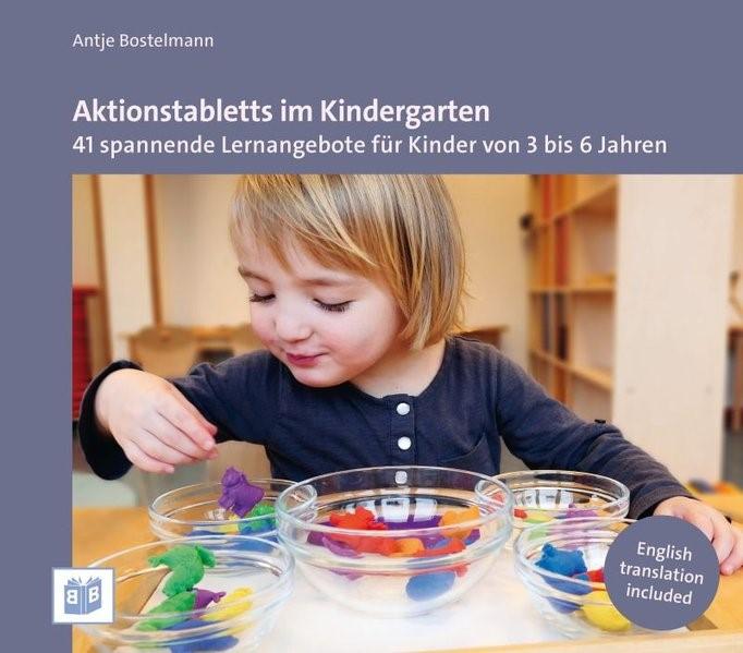 Aktionstabletts im Kindergarten | Bostelmann, 2017 | Buch (Cover)