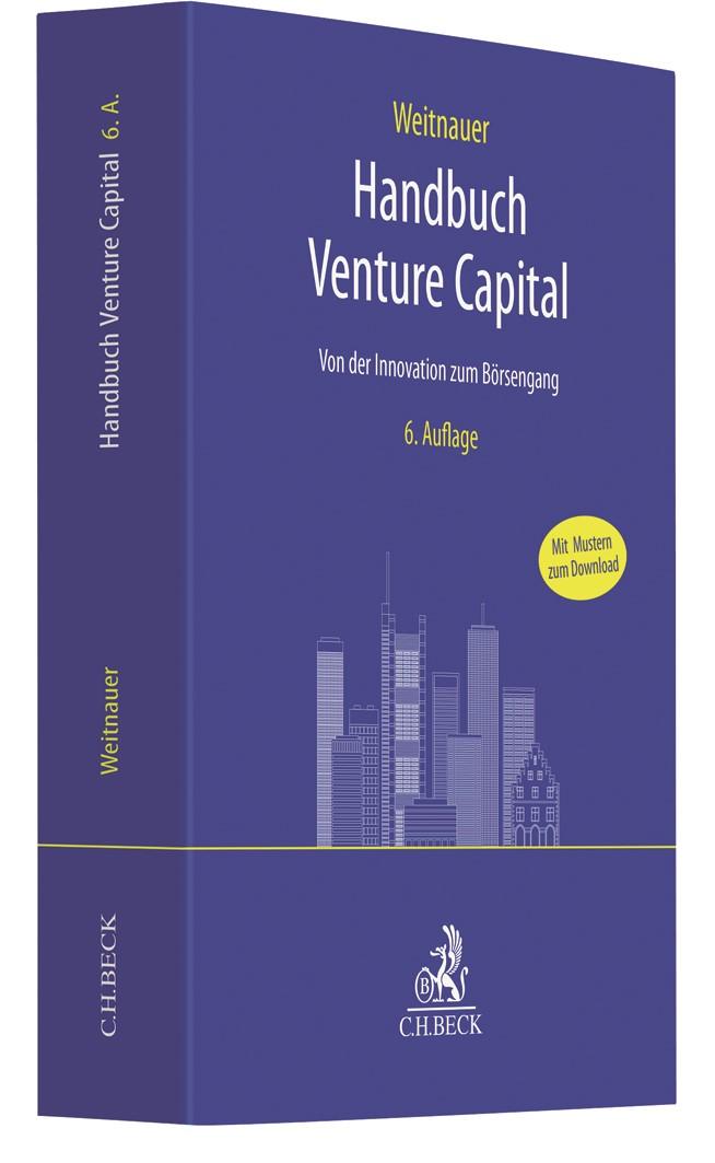 Handbuch Venture Capital | Weitnauer | 6., überarbeitete Auflage, 2018 | Buch (Cover)
