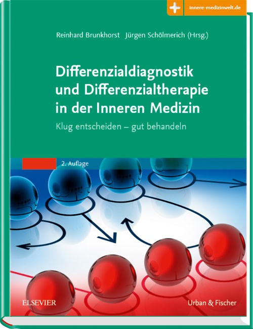 Differenzialdiagnostik und Differenzialtherapie in der Inneren Medizin | Brunkhorst / Schölmerich (Hrsg.) | 2. Auflage, 2018 (Cover)