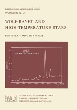 Abbildung von Bappu / Sahade | Wolf-Rayet and High-Temperature Stars | 1973 | 49